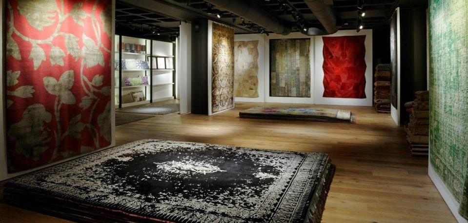 Iwan Maktabi, carpets, rugs, new showroom, Jan Kath, DesignFix design fix, design news