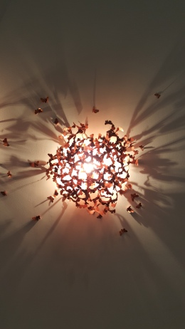 Victor Hunt DesignArt Dealer, Design Days Dubai, Dubai design, Design Fix, DesignFix, lights, butterfly light