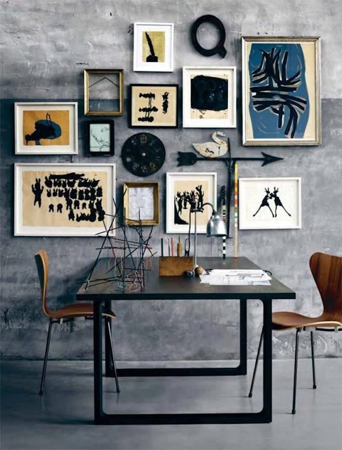 gallery wall, art, curation, home decor, design fix