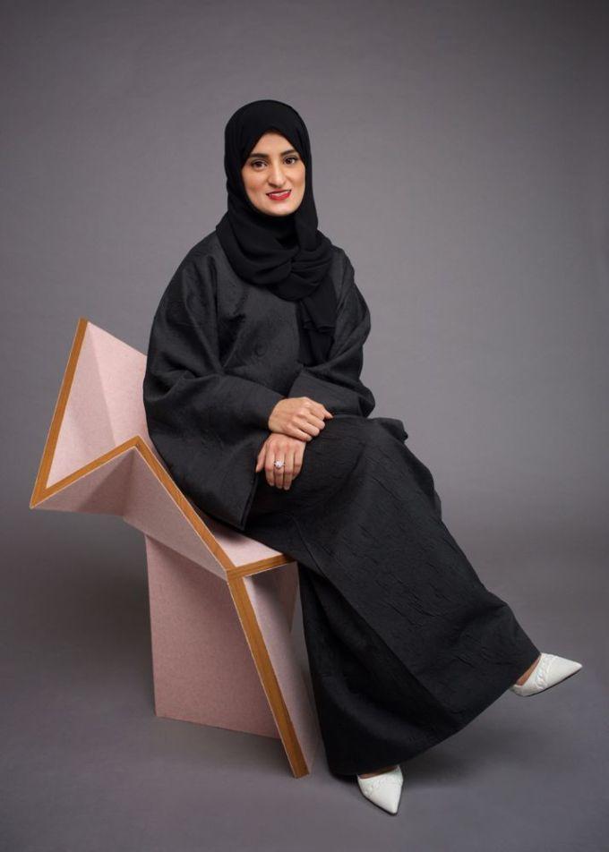 Aljoud Lootah, Emirati designer, Dubai design, Design DXB, Design Days Dubai, limited edition, origami, chair