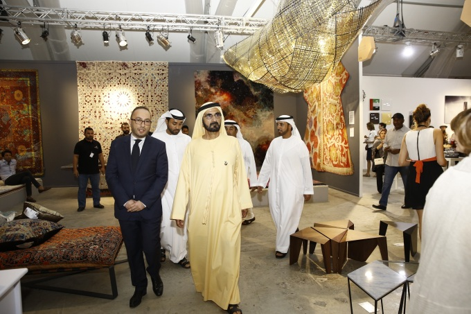 HH Sheikh Mohammed bin Rashid Al Maktoum, Vice President and Prime Minister, Ruler of Dubai, Cyril Zammit, Design Days Dubai 2016