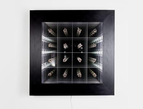 Quentin Carnaille, MAD Gallery, horological art, mirror, Design Days Dubai