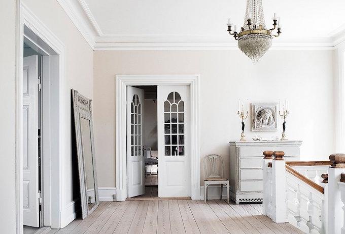 All white, romantic, decor, white-washed