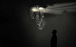 Ranim Orouk's Glow chandelier