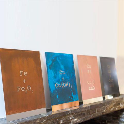 Lex Pott, Dutch designer, Design Days Dubai, oxidised copper, copper art