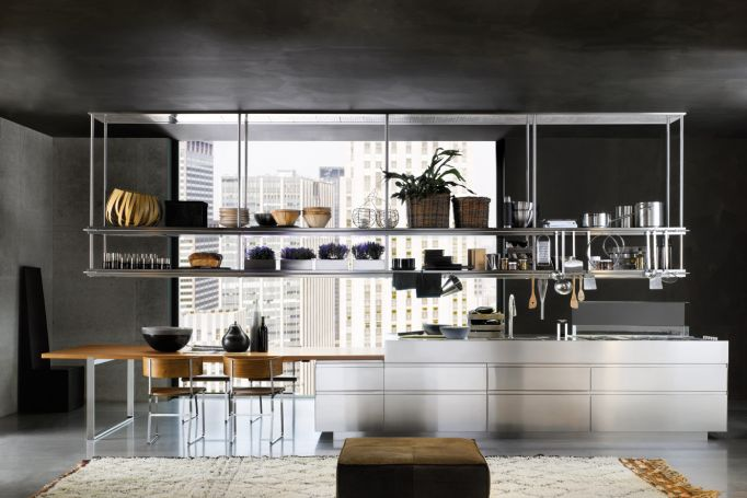 Convivium kitchen, industrial kitchen, Arclinea, kitchen design, Made in Italy, Salone del Mobile, Milan design, DesignFix, design fix, Dubai design blog, Middle East design blog