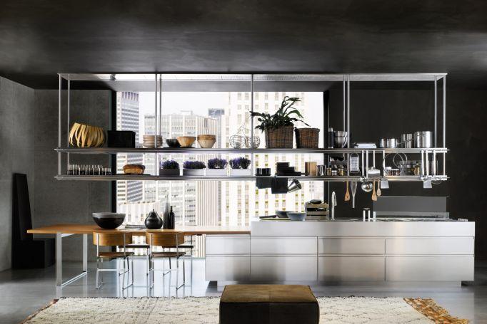 Convivium Kitchen Industrial Kitchen Arclinea Kitchen Design Made In Italy Salone