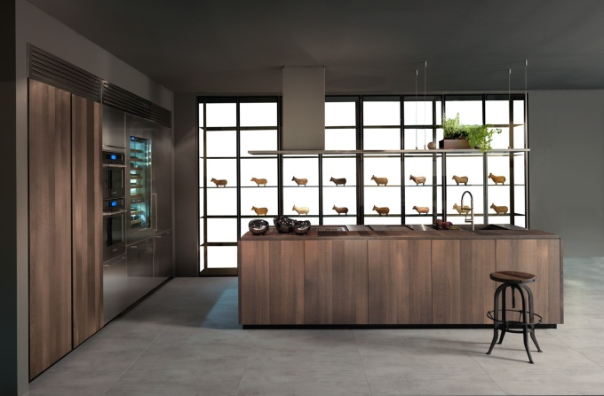 Binova, oak kitchen, wooden kitchen, Scava, Salone del Mobile, Fuorisalone, Milan furniture fair, EuroCucina, kitchen, kitchen trends, commercial kitchen, vintage kitchen, modern kitchen, designfix, design fix, Dubai design blog, design magazine, design report, design blog