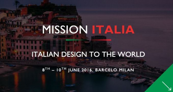 Design Mission Italia, Mission Italia, Italian design show, furniture show, trade show, made in Italy, designfix, design fix, dubai design blog, design blog, Middle East design blog, media partnership, Milan furniture fair