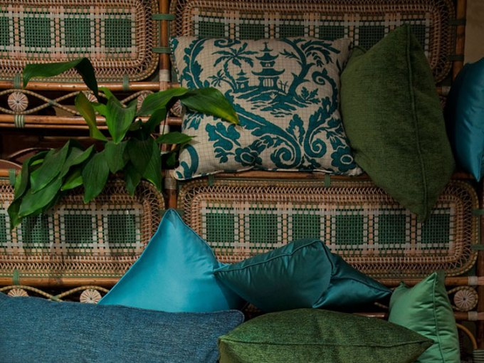 Rubelli, Italian textiles, Rubelli cushion, IDE consulting services, Design Mission Italia, design event, furniture fair, trade show, Made in Italy, Italian design show, Italian design, Italian manufacturers, Middle East buyers