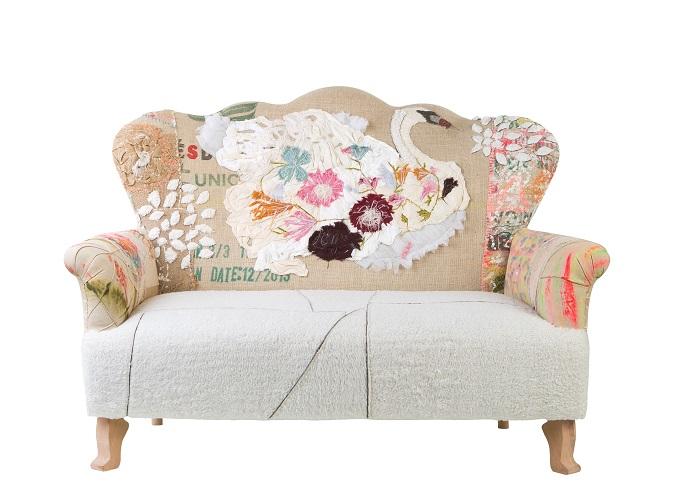 Lama Qaddumi-Shahin, Mosaique, My Mosaique, home store, boutique, Abu Dhabi, home accessories, shopping, interior design, business advice, retail entrepreneur, Bokja sofa, shabby chic sofa, patchwork sofa