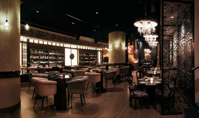 Bishop Design, Little Black Door, Conrad hotel, Yasin Salah Mohammed, Dubai, architecture, interior design, bar design, restaurant ldesign, RBDA, restaurant and bar design awards, Dubai Blog, design blog, designfix, design fiix
