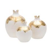 Lama Qaddumi-Shahin, Mosaique, My Mosaique, home store, boutique, Abu Dhabi, home accessories, shopping, interior design, business advice, retail entrepreneur, white gold pomegranates, white gold vases,