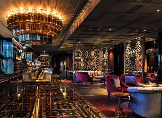 Kempinski Mall of the Emirates, Noir, Bassos Design, Aukett Fitzroy Robinson International, Dubai, architecture, interior design, bar design, restaurant ldesign, RBDA, restaurant and bar design awards, Dubai Blog, design blog, designfix, design fiix