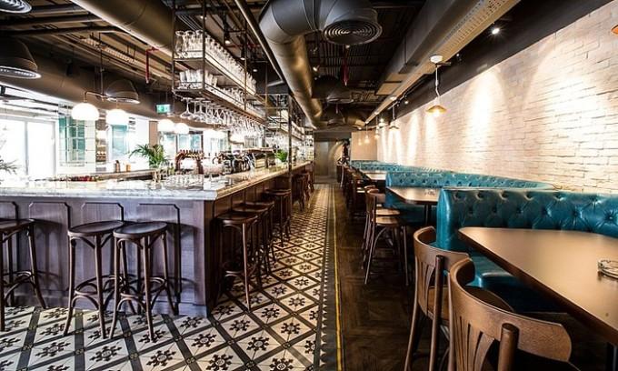 Stones and Wall, Nola, JLT, Dubai, architecture, interior design, bar design, restaurant ldesign, RBDA, restaurant and bar design awards, Dubai Blog, design blog, designfix, design fiix