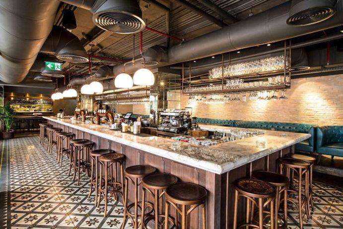 Stones and Walls, Nola, JLT, Dubai, architecture, interior design, bar design, restaurant ldesign, RBDA, restaurant and bar design awards, Dubai Blog, design blog, designfix, design fiix