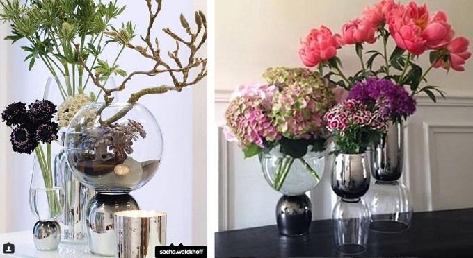 Instagram, Sacha Walckhoff, Verreum, Reverso vase, Christian Lacroix director, metallic vases, Mosaique, Abu Dhabi, home store design boutique, Lama Qaddumi-Shahin
