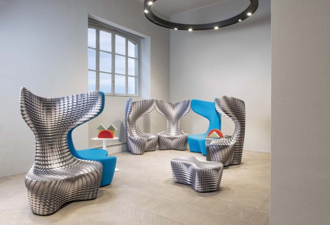 Drum Chair, armchair, Mac Stopa, Cappalleni, Poltrona Frau Group, PF Emirates, Milan, Salone del Mobile, new collection, new furniture, designfix, design fix, dubai blog, design blog